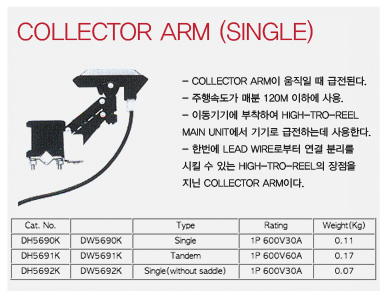 Collector Arm (Single)